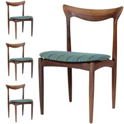 Danish Dining Chair Travel High Seat Argos Set Of Four Chairs For Sale At 1stdibs