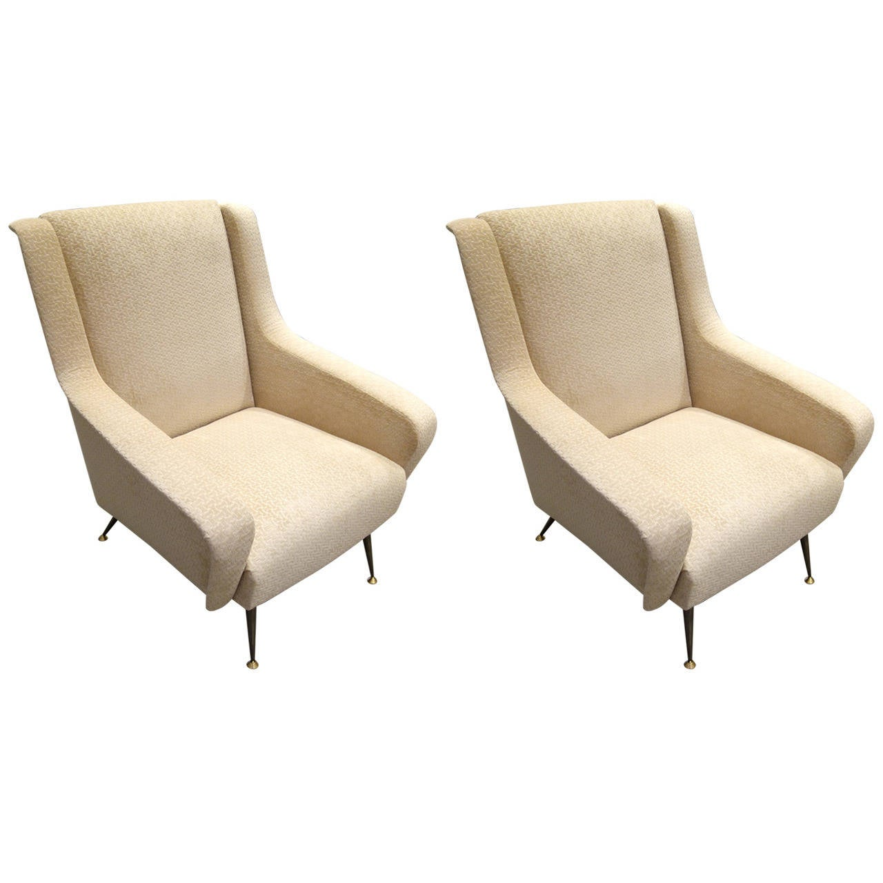 arm chairs for sale gaming chair reviews canada pair of mid century modern italian sculptural lounge