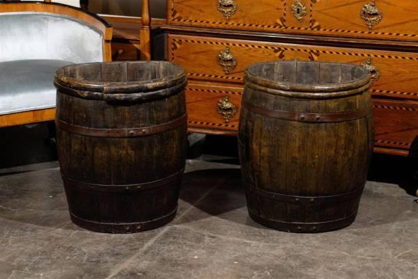Wooden Barrels 1stdibs
