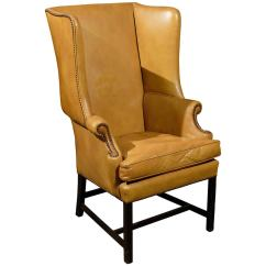 Leather Wingback Chairs Recliner On Sale English Wing Chair At 1stdibs