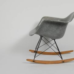 Metal Rocking Chair Runners Black Massage Eames Zenith At 1stdibs