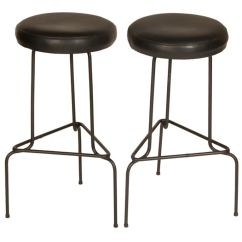 Swedish Leather Recliner Chairs Burlap Chair Cover Ideas Wrought Iron Bar Stools At 1stdibs