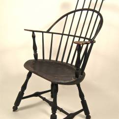 Comb Back Windsor Chair Ruched Spandex Covers Armchair At 1stdibs