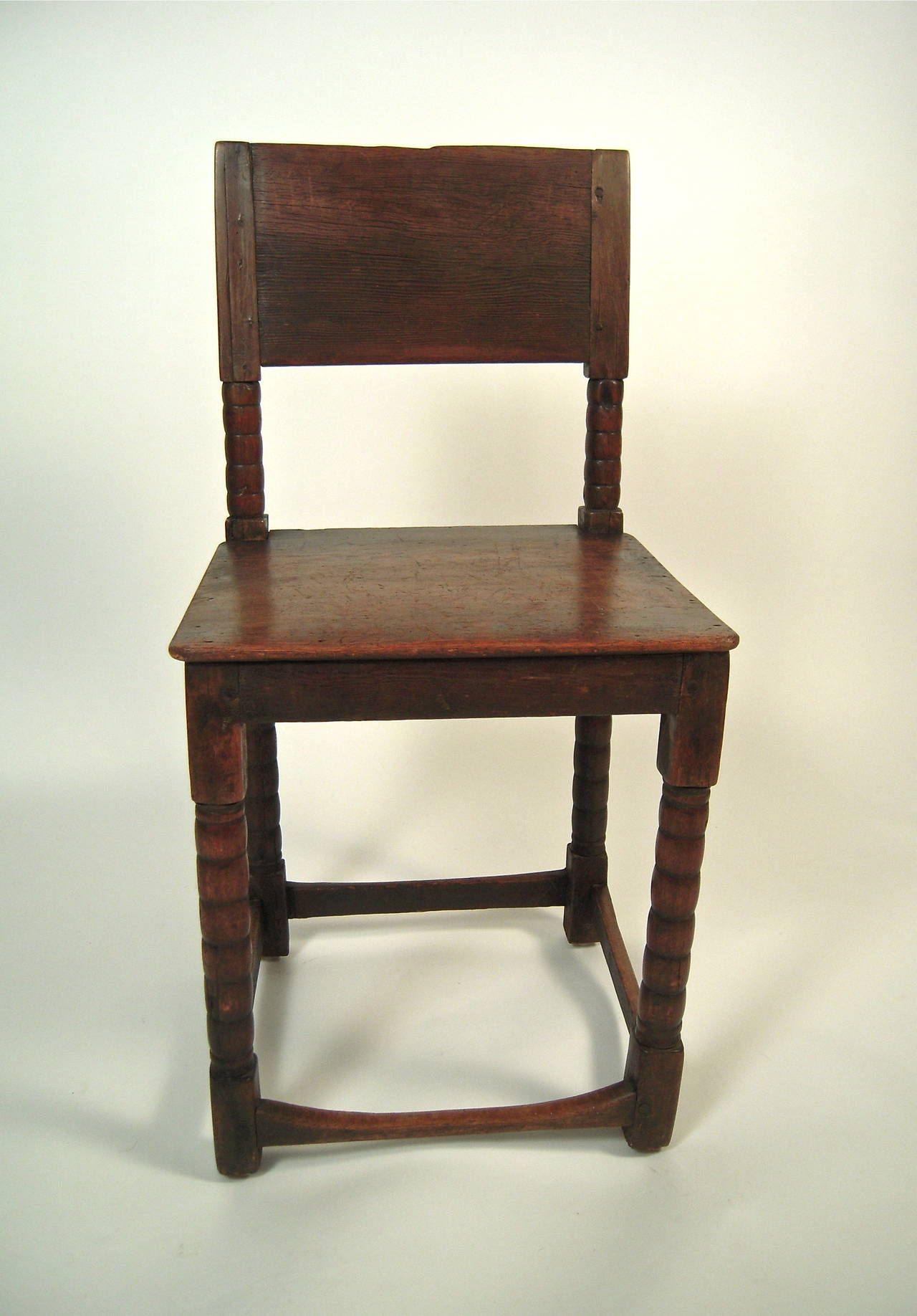 posture leather chair cheap silver spandex covers for sale 17th century english cromwellian at 1stdibs