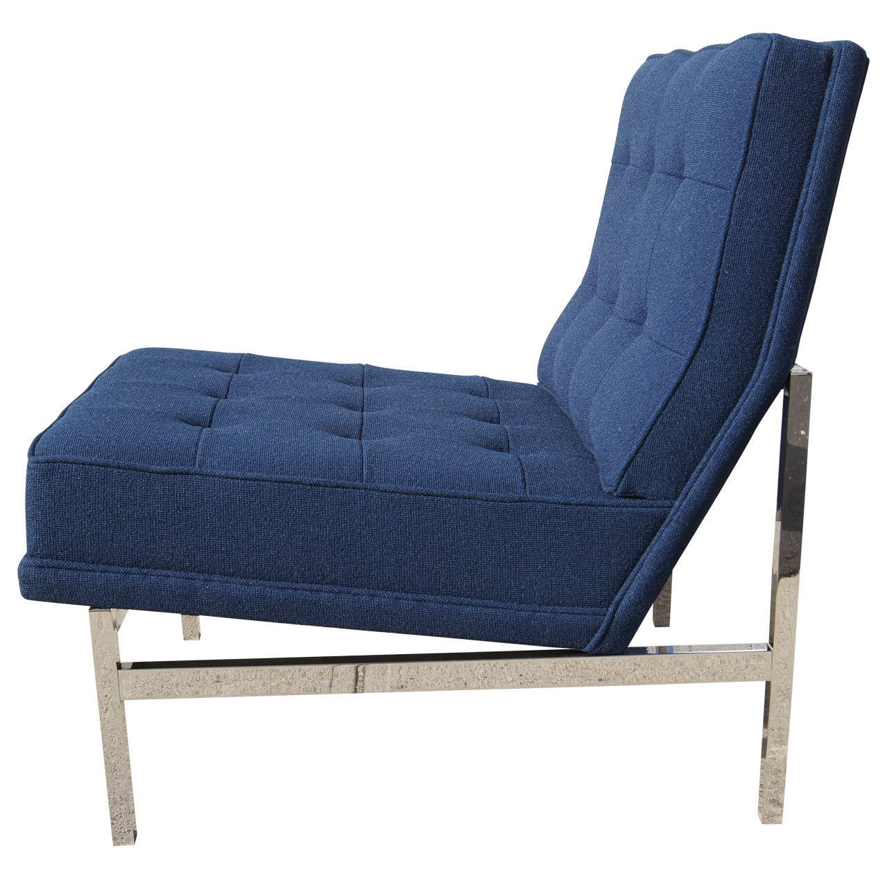 Armless Lounge Chair by Florence Knoll at 1stdibs