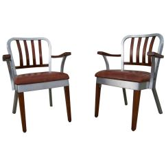 Shaw Walker Chair Queen Anne Chairs For Sale Pair Of Armchairs By At 1stdibs