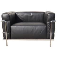 Corbusier Lounge Chair Sofa Rocking Lc3 Grand Confort By Le At 1stdibs