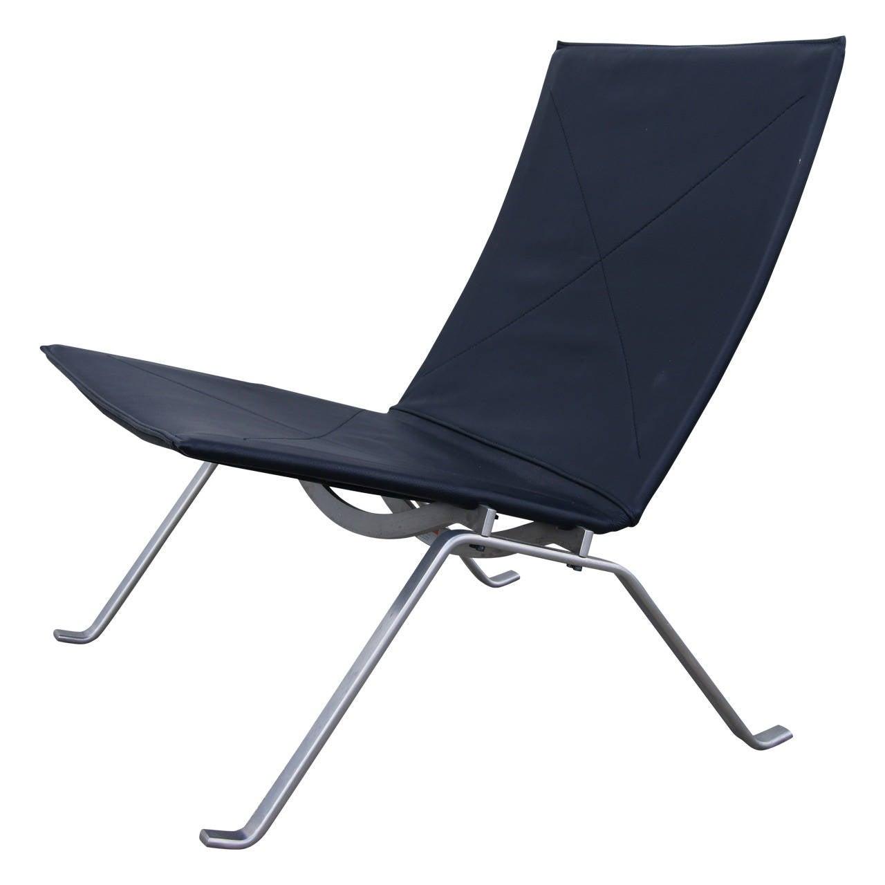 PK22 Lounge Chair by Poul Kjaerholm for Fritz Hansen at