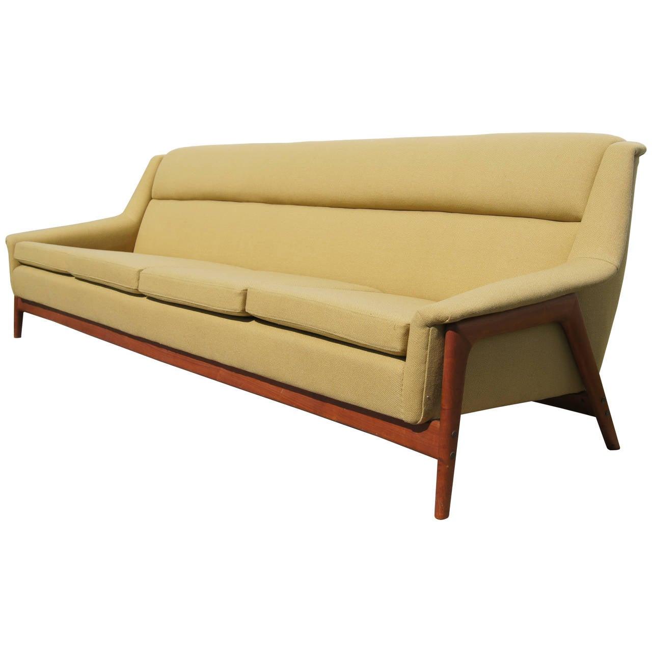 dux sofa by folke ohlsson woodmark standard sofas four seater for at 1stdibs