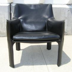 Mario Bellini Chair Gym Walmart Black Leather Cab 414 By For Cassina