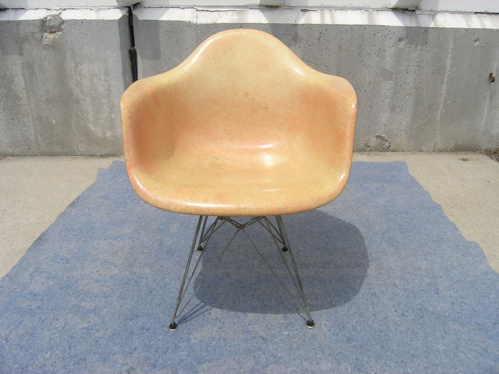 fiberglass shell chair graco high recall rope edge with eiffel tower base by