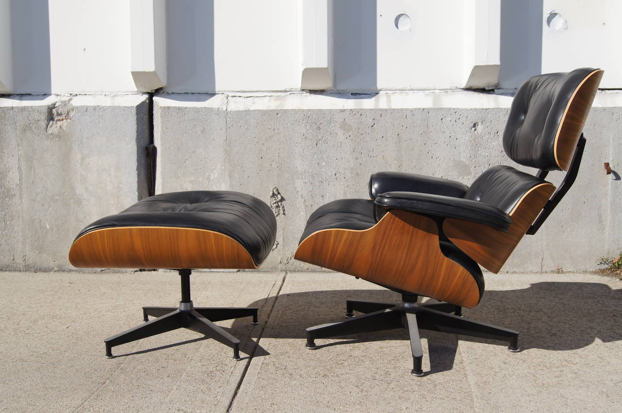 Herman Miller Eames Chairs Lounge Chair And Ottoman By Eames For Herman Miller Model