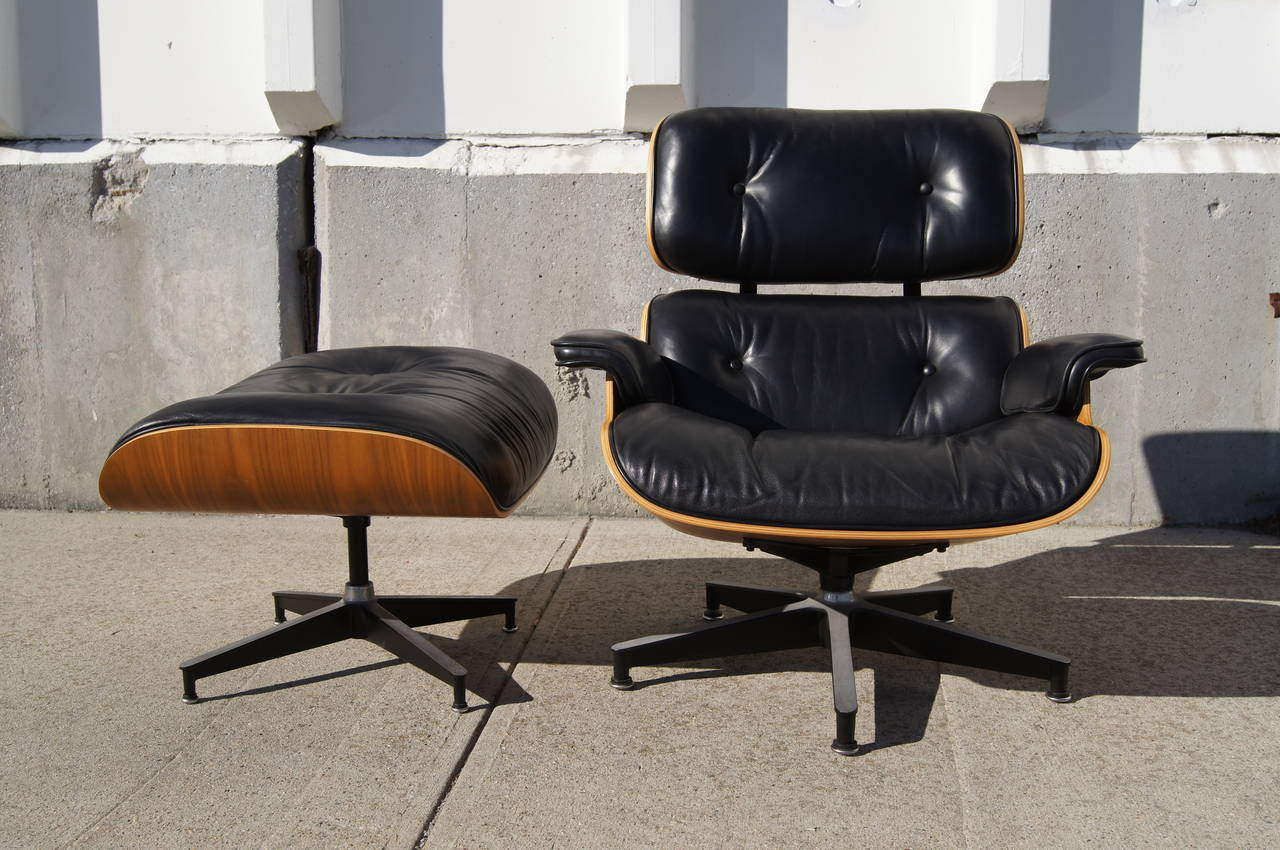 Herman Miller Eames Chair Lounge Chair And Ottoman By Eames For Herman Miller Model