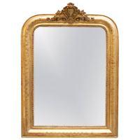 Period Louis Philippe Gilt Mirror at 1stdibs