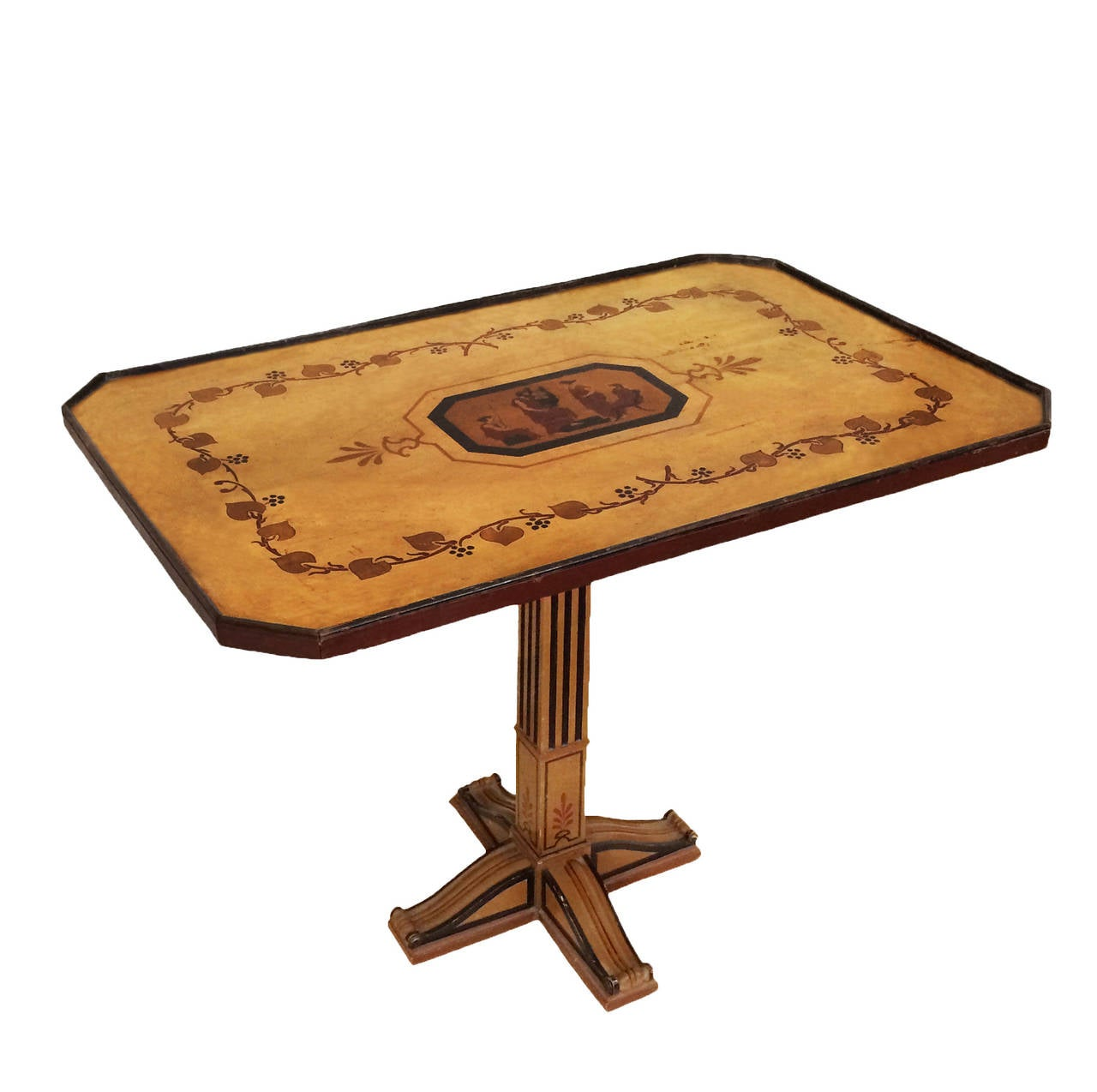 Neoclassical Egyptian Revival Table For Sale At 1stdibs