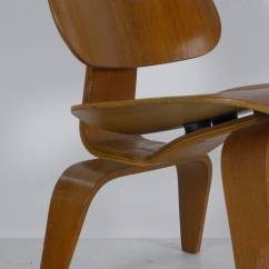 Eames Wood Chair Outdoor Wicker Swivel Charles Lounge Quotlcw Quot At 1stdibs