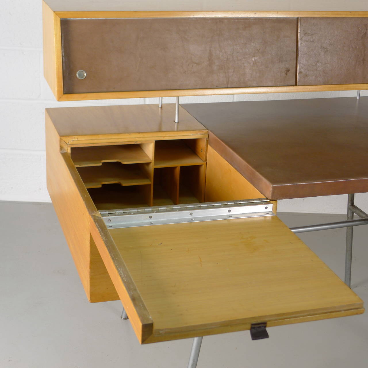 George Nelson Home Office Desk At 1stdibs