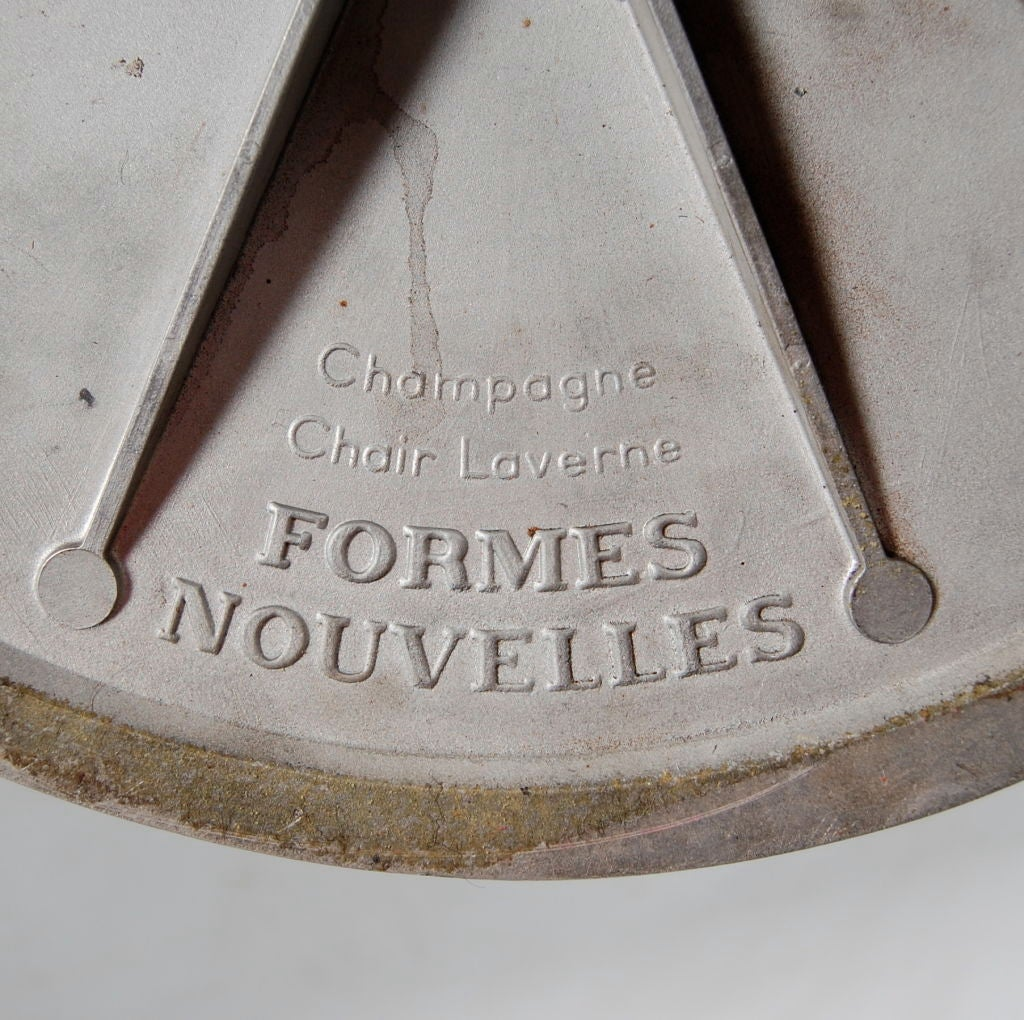 Champagne Chair Laverne Champagne Chair Signed At 1stdibs