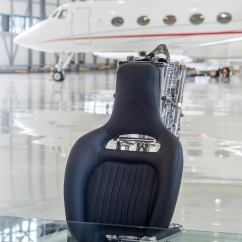 Ejection Seat Office Chair Back Pain Cushion Martin Baker Mk3 Black Edition For