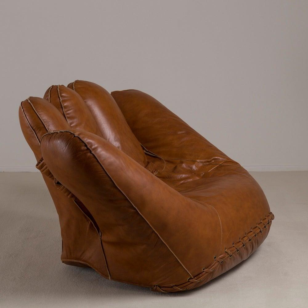 de sede sofa vintage sofala nsw camping grounds large leather baseball glove for poltronova, 1970s ...