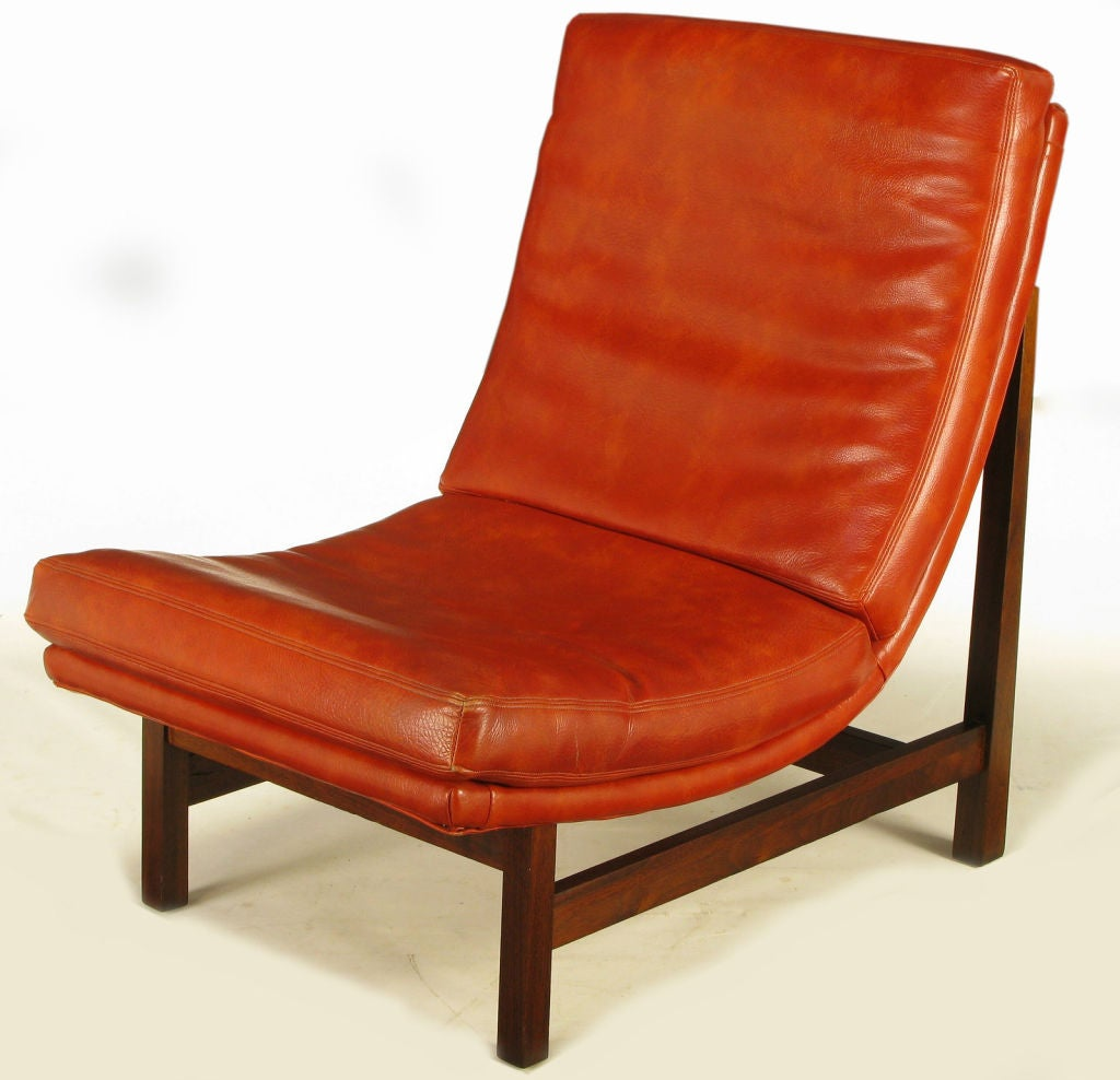 upholstered scoop back dining chairs white chaise chair pair custom umber mahogany frame