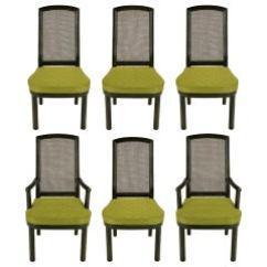 Henredon Asian Dining Chairs Ergonomic Chair Explanation Chinoiserie Elan Koa Wood For Sale At Six Mahogany Cane