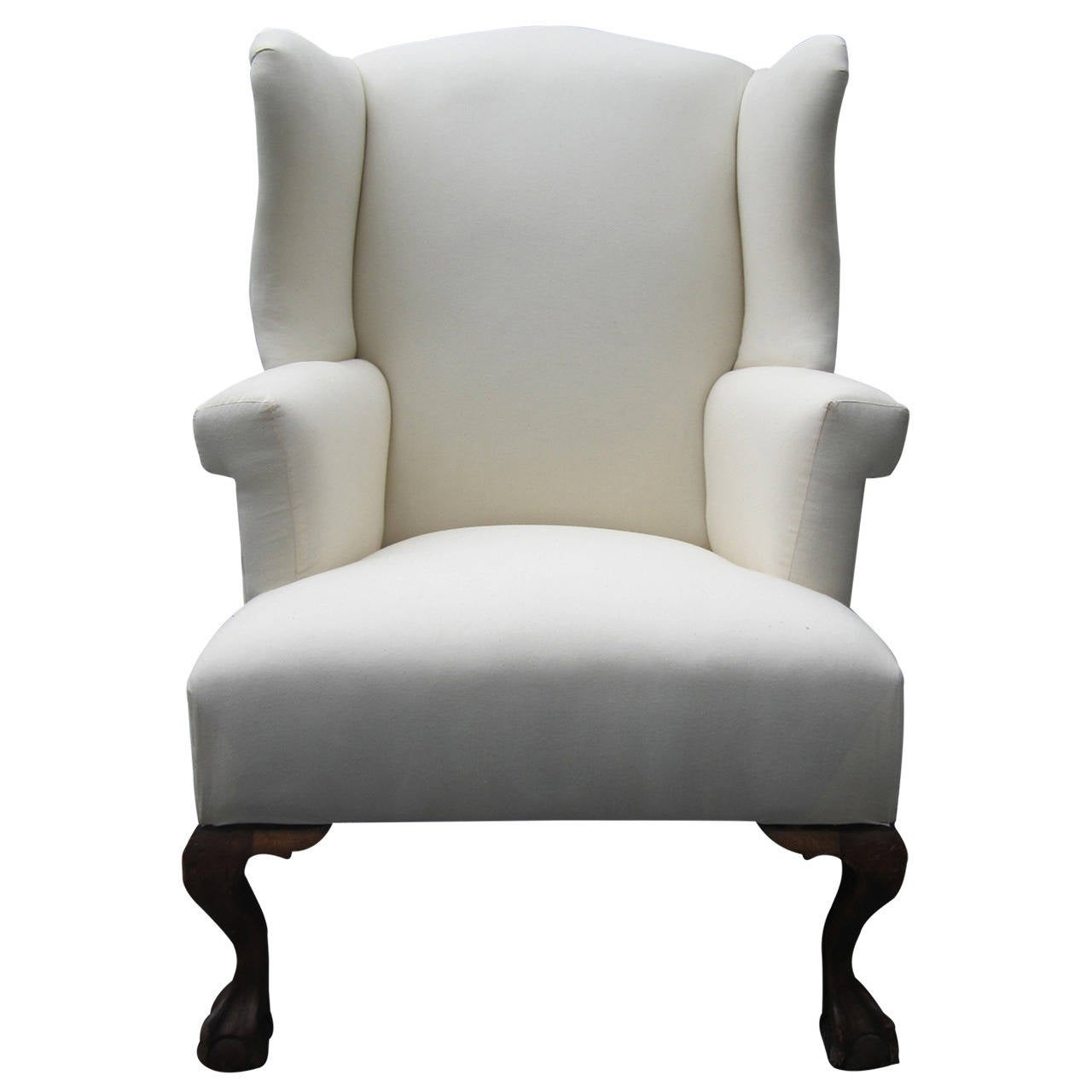 Wing Chair Chippendale Wing Chair At 1stdibs