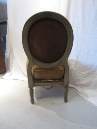Louis XVI Style Maison Jansen Boudoir Chair at 1stdibs