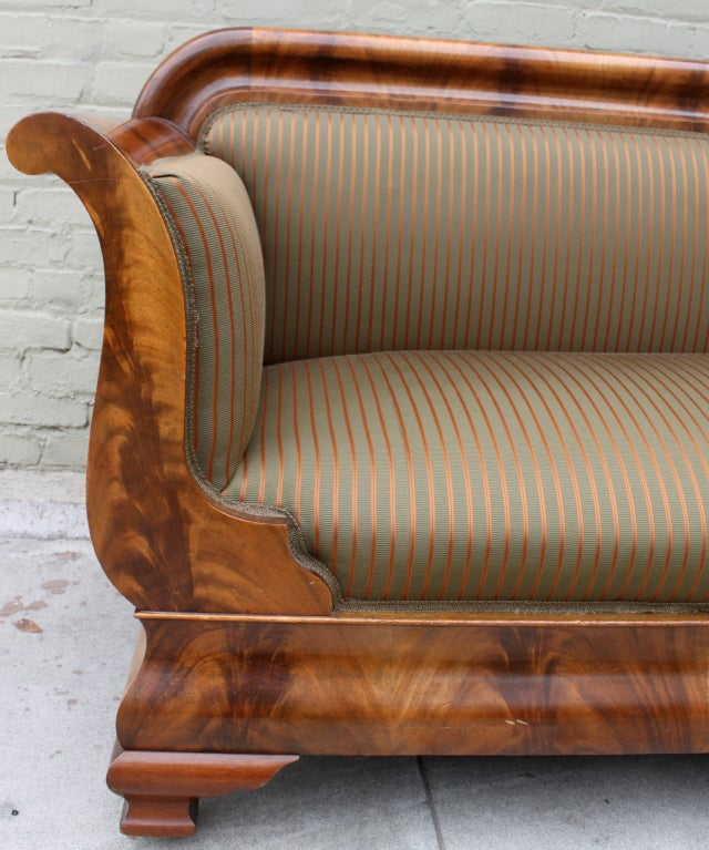 early american style sofas chairs and hemet 19th c. empire sofa at 1stdibs