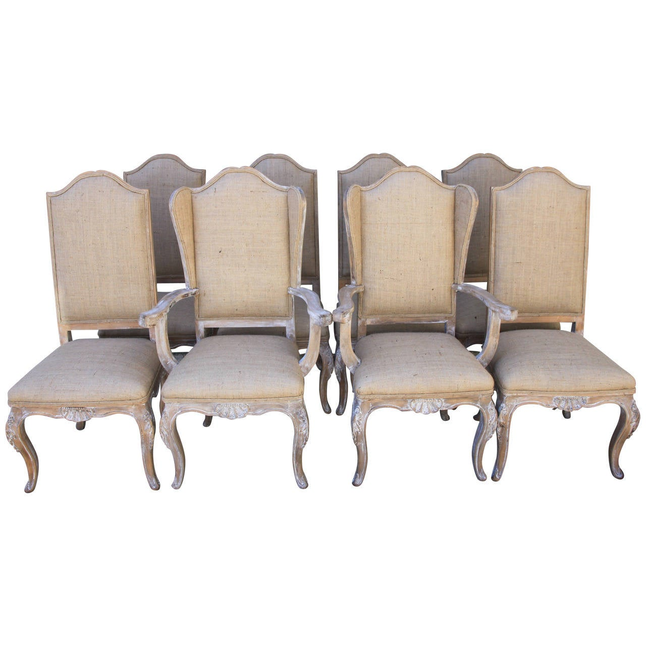 French Dining Chairs Set Of Eight French Louis Xv Style Dining Chairs At 1stdibs