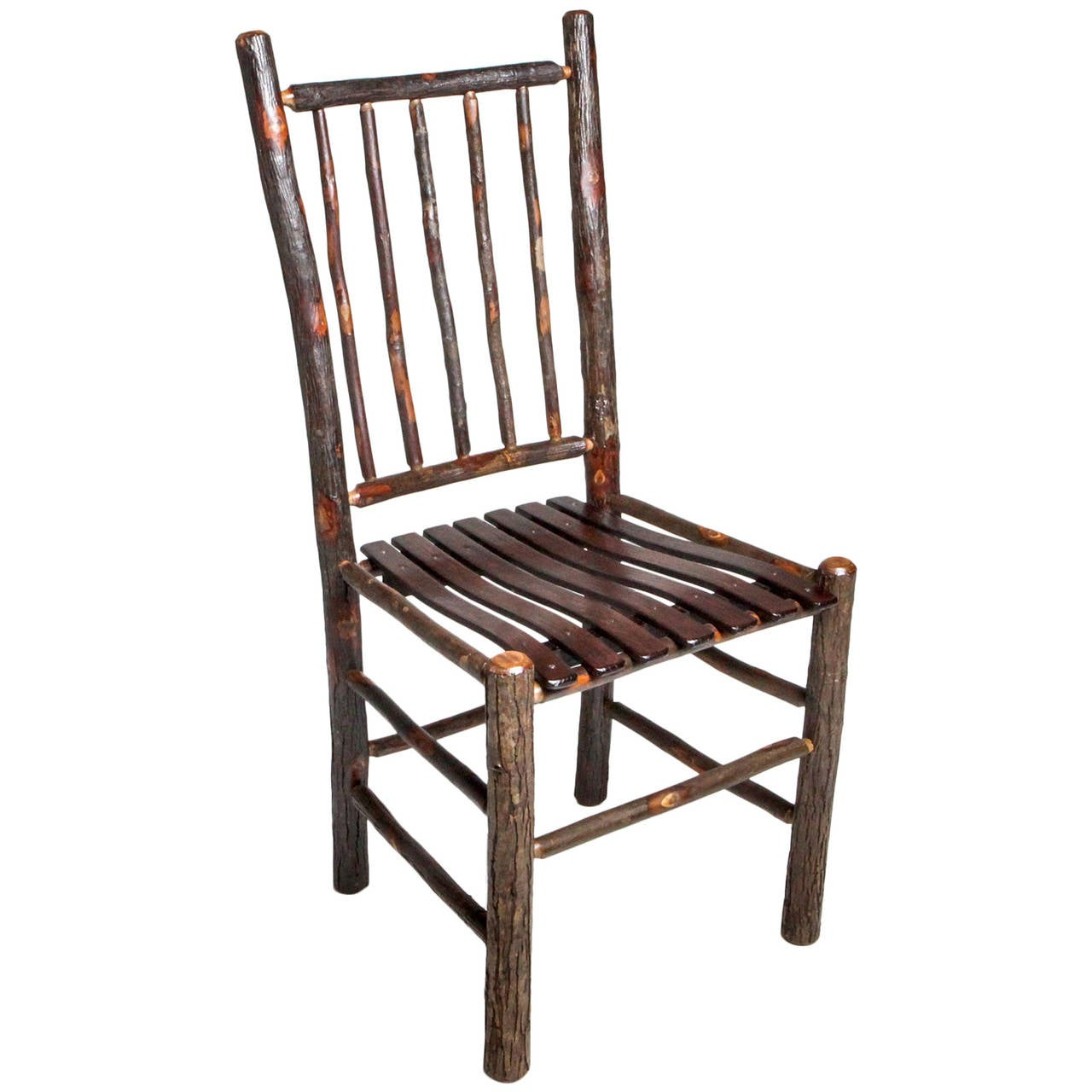 Chippendale Period Spindle Back Chair For Sale at 1stdibs