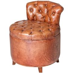 Leather Chairs For Sale Office Chair Low Back Tufted At 1stdibs