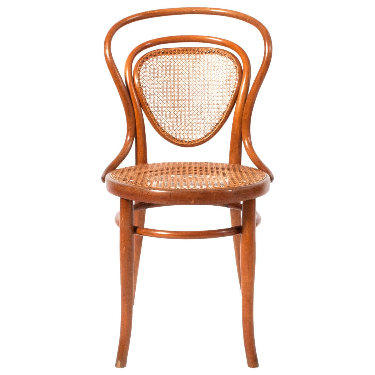 Bent Wood Chairs Early J And J Kohn Bentwood Chair 1900 At 1stdibs