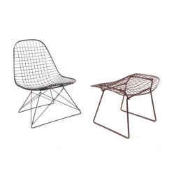 Bertoia Wire Chair Original Cheap Parson Chairs Lkr 2 Charles Eames Lounge And Harry