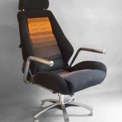 Recaro Office Chair Stokke High Second Hand Race Car Style Executive Swivel Desk By At 1stdibs