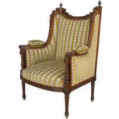Bergere Chairs Swivel Chair Bunnings 19th Century French Louis Xvi Style Or Wing
