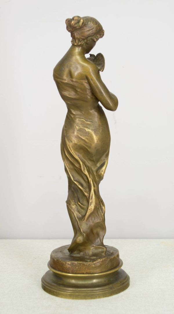 19th Century French Bronze Sculpture Emile Laporte
