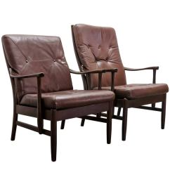 Leather Directors Chair Sam Maloof Vintage Campaign Or Director Chairs At 1stdibs