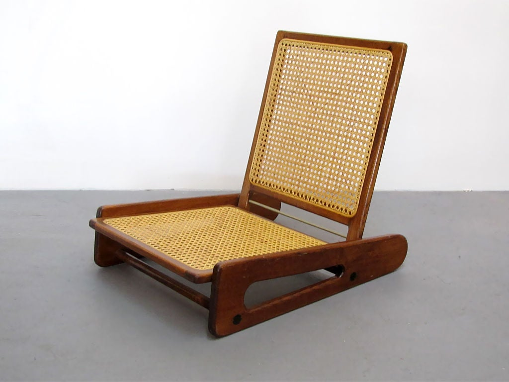 canoe chair wood desk chairs without wheels vintage at 1stdibs