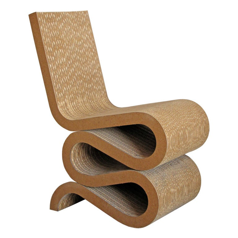 Frank Gehry Wiggle Chair at 1stdibs