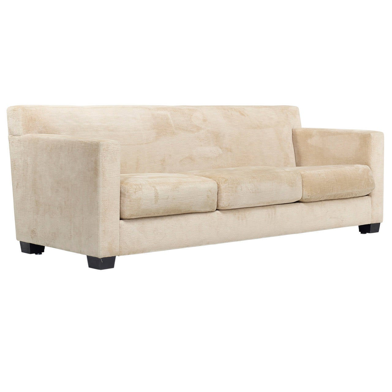 jean michel frank style sofa plaid and loveseat set velvet