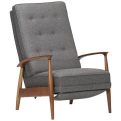 Milo Baughman Chair Lift Parts Reclining Lounge By For Thayer Coggin
