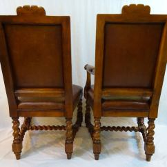 Ralph Lauren Chair Jumbo Rocking Cushions Set Of Six 20th Century Dining Chairs By At