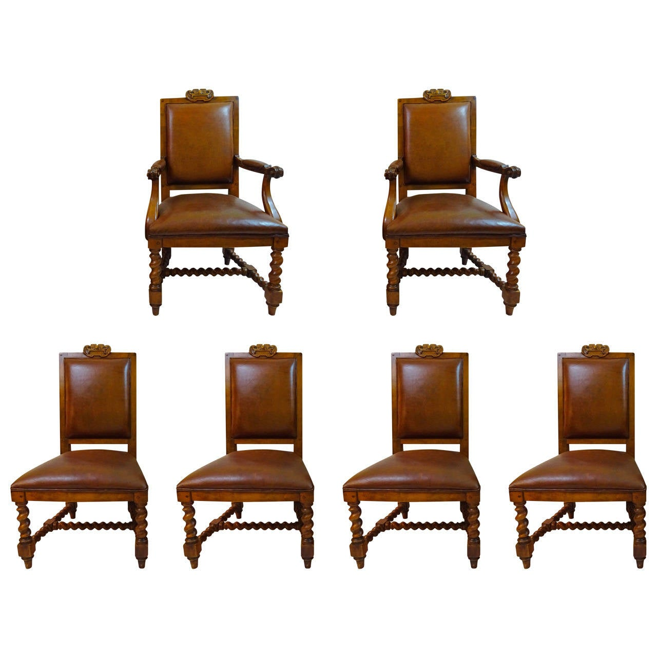 ralph lauren chair white salon styling chairs set of six 20th century dining by at