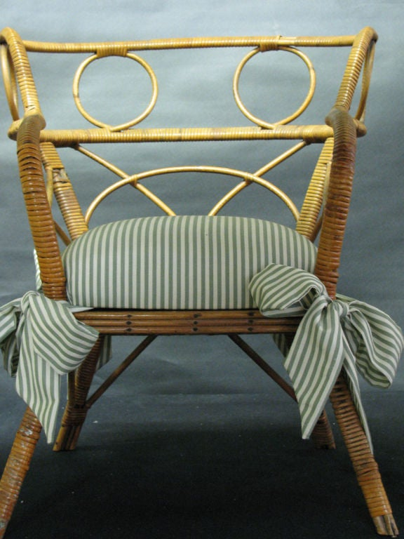 Armed Antique Club Chair Oak
