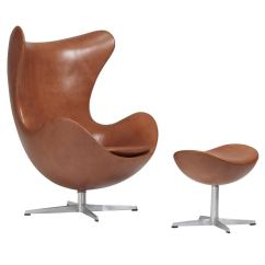 Arne Jacobsen Egg Chair Kermit Review Early And Ottoman For Fritz Hansen