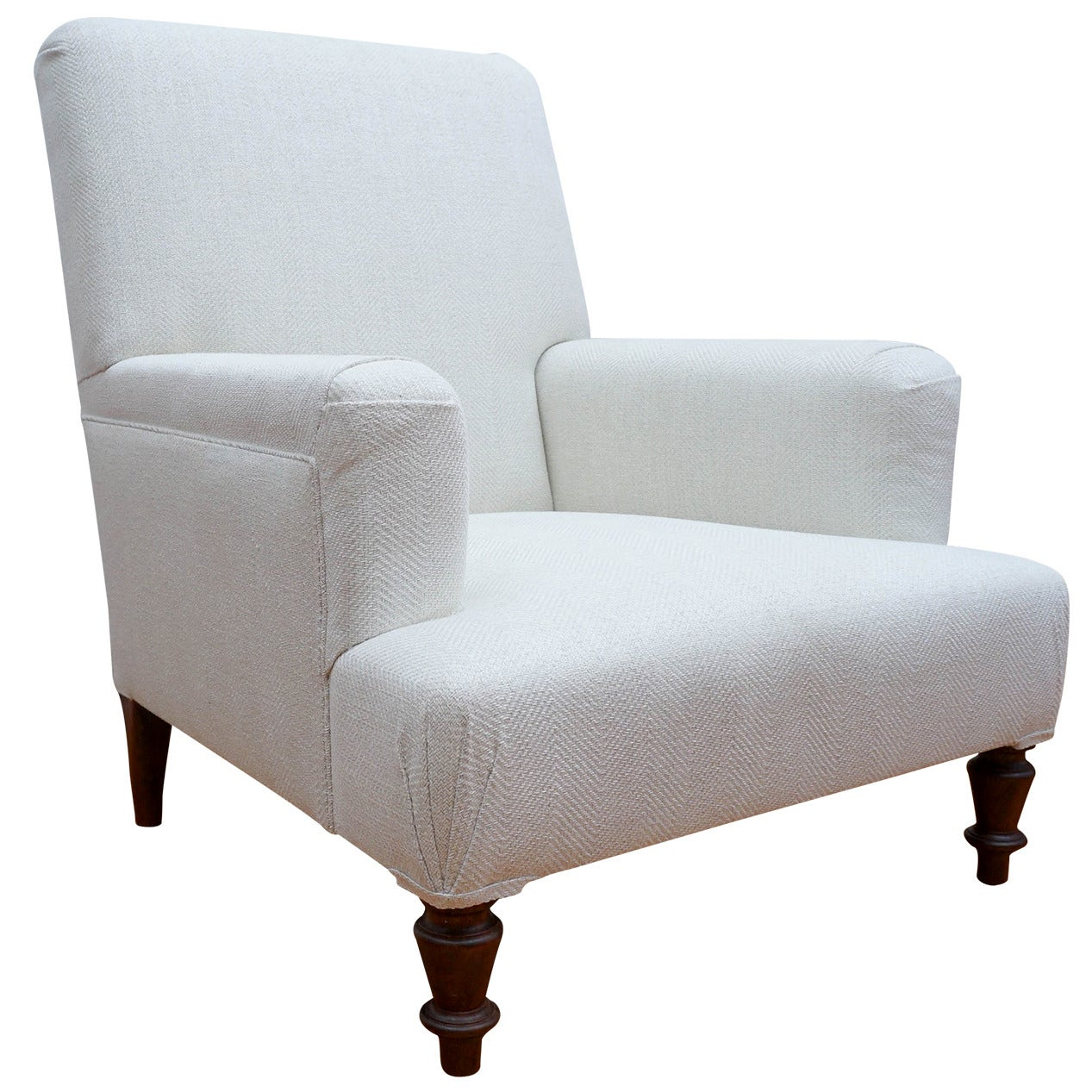 Upholstered Club Chair Custom Quotprovence Quot Upholstered Club Chair For Sale At 1stdibs