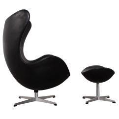 Jacobsen Egg Chair Leather Quality Office Chairs And Ottoman By Arne In Original