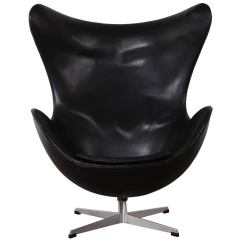 Jacobsen Egg Chair Leather Covers For Protection By Arne In Original At 1stdibs