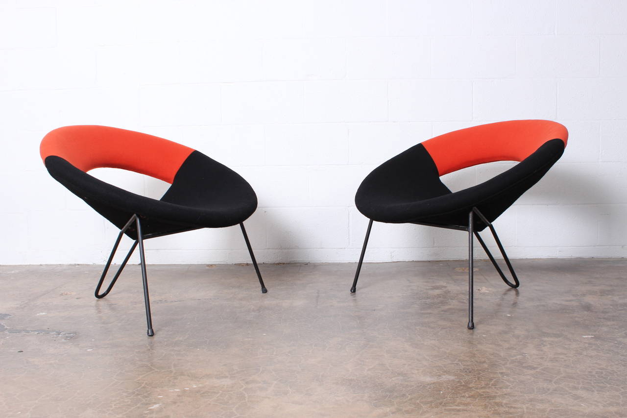 Satellite Chair Pair Of Quotsatellite Quot Lounge Chair By Henri Lancel At 1stdibs